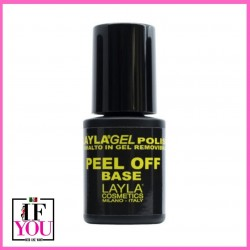 BASE GEL POLISH PEEL OFF - LAYLA