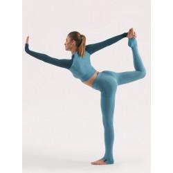 Completo Yoga Donna: Legging e Maglia BEGOOD - Avio
